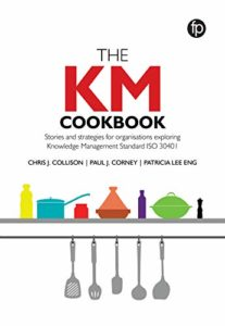The KM Cookbook Cover
